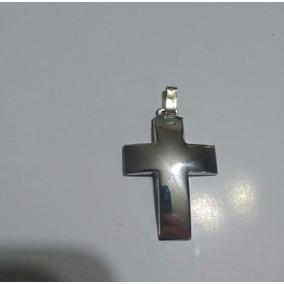 Cruz De Plata Bombé Grande