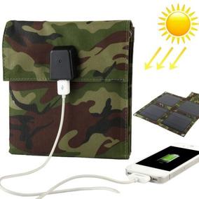 Solar Cargador 10w Panel Portatil Bolsa Para Laptops E E