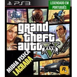 Gta 5 Ps3 Português Mídia Física Novo Grand Theft Auto V