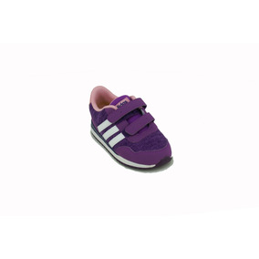 Zapatilla adidas Neo V Jog Violeta/bco Bebe Deporfan