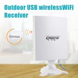Antena Wifi Usb Rompemuros Kasens N9600 80dbi 6600mw Nueva