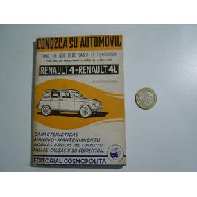 Pequeño Libro Conozca Su Automovil Renault 4 Y 4l Ed. Cosmop