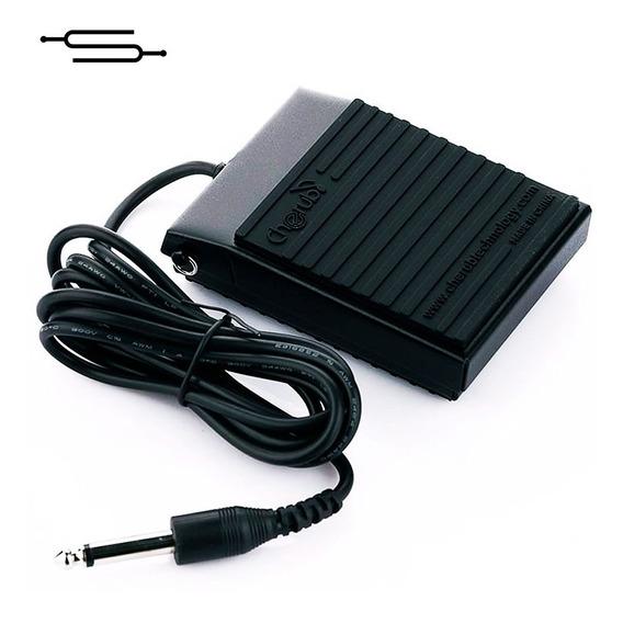 Pedal Sustain Metalico Teclado Piano Cherub Wtb004 - Envio