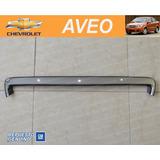 Chevrolet Aveo - Moldura Cromada De Capot