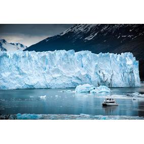 Fotografía Para Cuadro Glaciar P.moreno 40x30 (color)