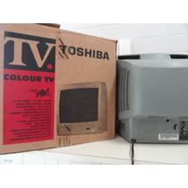 Tv Semp Toshiba Lumina De 14 Polegadas Nova