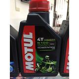 Aceite Para Motocicleta Motul 4t 5100 15w50 1 Lt Semi Sintet