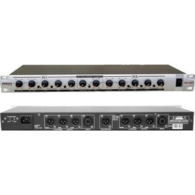 Crossover Stereo Sc-203 Tres Vias + Subwoofer American Pro