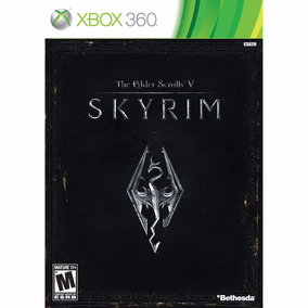 The Elder Scrolls V: Skyrim Xbox 360 Mídia Física Lacrado