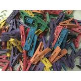 100 Pinzas Tendedero Plástico Económicas P/ Ropa, Lavadora