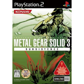 Metal Gear Solid 3 Subsistence Ps2 Playstation 2 (2 Discos)