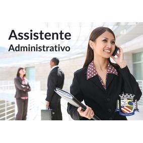 Curso Assistente Administrativo + Certificado Reconhecido