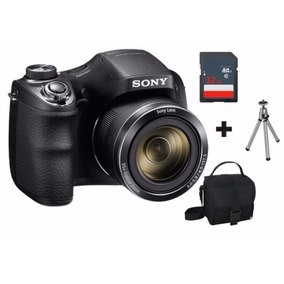 Câmera Sony Dsc H300 20.1mp Kit Sd 32gb Classe10 Tripe Bolsa