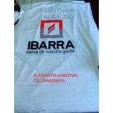 Camisetas En Tela Deportiva $1.75