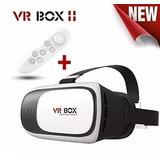 Óculos 2.0 Vr Box Realidade Virtual 3d Android + Controle