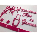 Painel Acrílico Decoração Salão Beleza Manicure Esmalteria