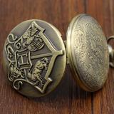 Reloj Collar De Hogwarts Modelo 1 Harry Potter De Colección