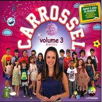 Cd Novela Carrossel Volume 3 Remixes Lacrado