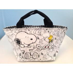 Bolsa De Mão Lancheira Desenhos Animados Dog E Bird Cartoon