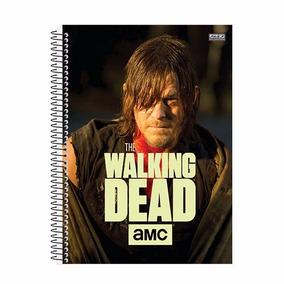 Caderno The Walking Dead 2018 Espiral Capa Dura 10 Matérias
