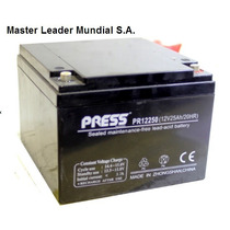 Bateria Gel Press 12v 25ah Mas Duracion Equipos Ups Luces