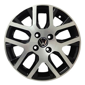 Roda Nova Saveiro Zk330 Jogo Aro 17 Cor Bd - Black Diamond