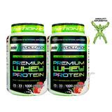 2 Premium Whey Protein De Suero De 1kg - Star Nutrition
