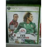 Juego Original Xbox 360 Fifa 09, Perfecto Estado