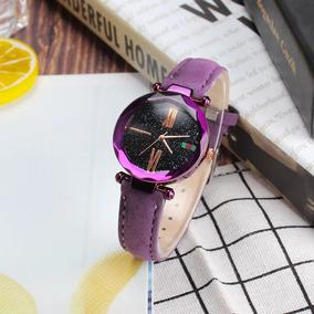 Reloj Mujer Dama Moda Tendencia Gamusa Colores Brillo Mayore