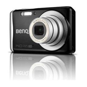 Com Defeito Para Peças Câmera Digital Benq Dcs-1410 Preto