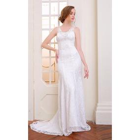 Vestido De Novia Talla 10 12 16 Modelo Delpilar Np 02