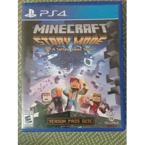 Disco Minecraft Story Mode Para Ps4