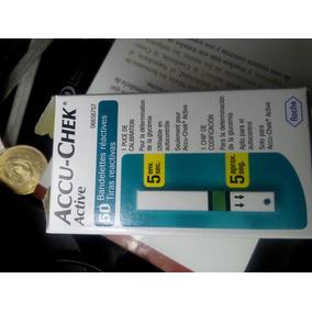 Caja De 50 Tiras Para Medirse La Glucosa. Accuchek