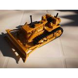 Mini Trator Pá Esteira Brinquedo Antigo Metal Arpra 1/50