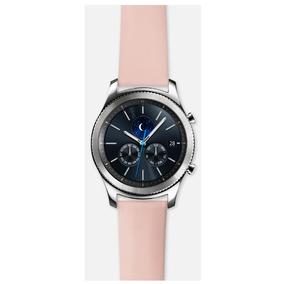 Bandas Pulseras Para Gear S3 Strap Nappa Rosa Acce Samsung