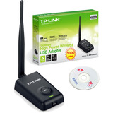 Cd Beini Auditoria + Antena Rompemuros Usb Wi-fi Tl-wn7200nd