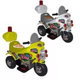 Moto A Bateria Bebe Triciclo 6 V Musica Luces Baby Shopping