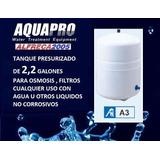 Tanque A3 Presurizado 2,2 Galones Osmosis Filtros De Agua
