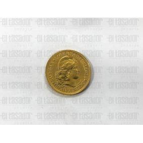 Moneda De Oro Argentino 22 Kts. *joyeriaeltasador*