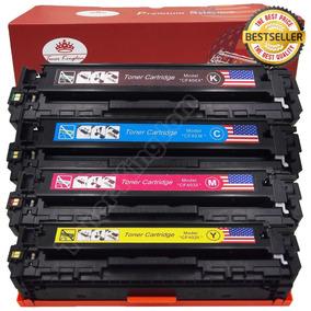 Set De 4-pack Toner Para Hp Color Laserjet Pro M277dw M277n