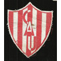 * Futbol Antiguo Escudo En Tela Club Atletico Union 8x7