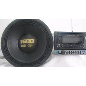 Cd Player, Toca Fitas, Equalizador, Auto Falante 1600