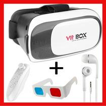 Realidad Virtual El Original Vr Box 3.0 + Control + Regalos