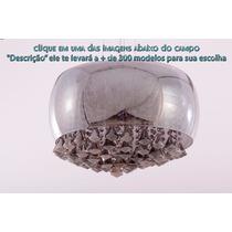 Pendente Chaia Vidro E Vidro Fume 9 Lampada E14 ( + Luz )