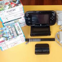 Wii U Com Gamepad + Brinde   Garantia De Loja E Nota Fiscal