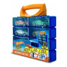 8 Modulos Porta Autos Valija Hotwheels Multibrick Car Case