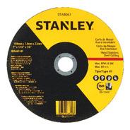 Disco Abrasivo Corte Fino 7 X 1,6mm X 7/8 Stanley Sta8067