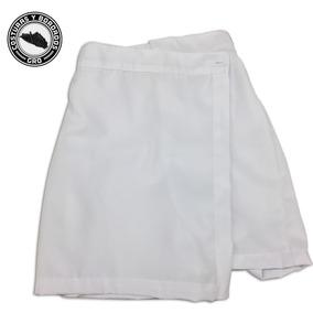 3 Shorts Falda Escolares Para Niña Con Bordado