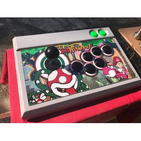 Controle Arcade Para Snes, Ps3/pc, Ps2 Ou Xbox360