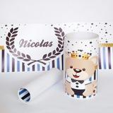 Faixa Decorativa Adesivo Borde Infantil Bebe Urso +brinde